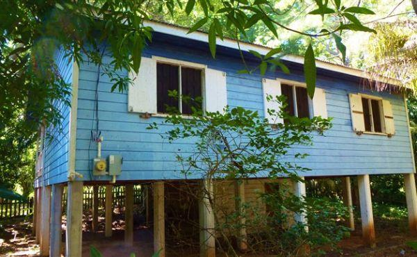 The Blue House at Crum's Hill