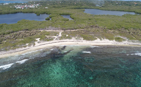 3 Acres Beachfront at Big Bight Lot #4